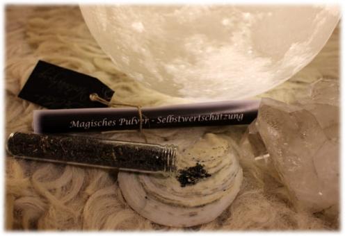 Magisches Pulver Selbstwertschätzung