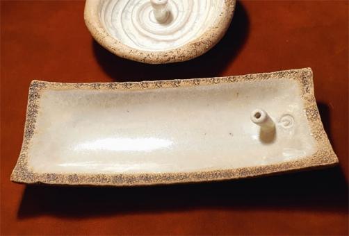 Räucherstäbchenhalter weiß