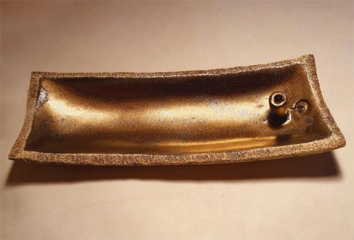 Räucherstäbchenhalter gold